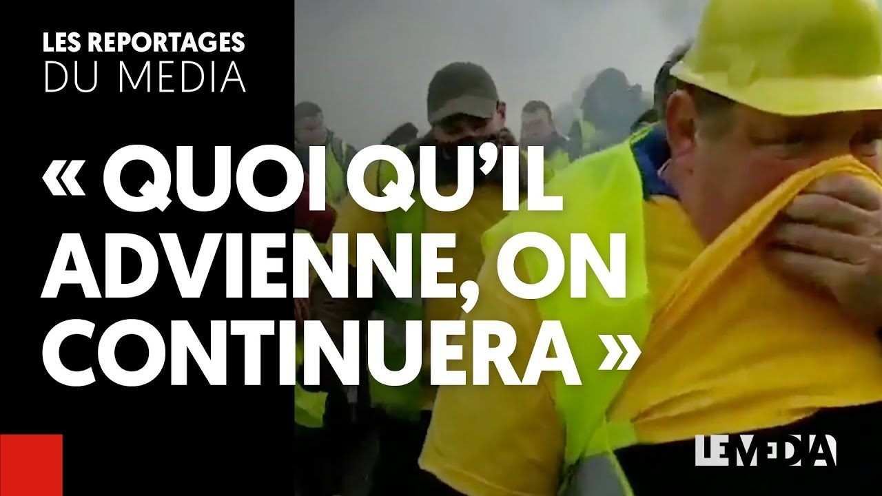 ACTE III – GILETS JAUNES : « QUOI QU'IL ADVIENNE, ON CONTINUERA »