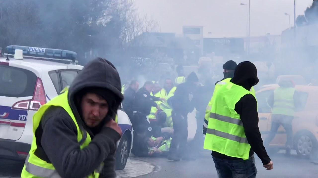 ACTE IV : Gilets Jaunes 8 décembre 2018 Saint-Brieuc / Langueux