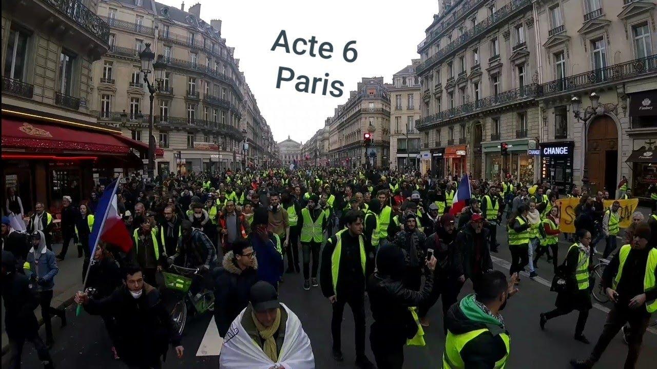 GILETS JAUNES ACTE6: LA BAC TIRE SUR UNE FEMME !!!