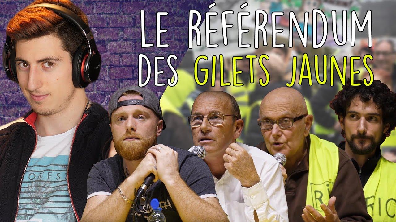 Le RÉFÉRENDUM des GILETS JAUNES avec Fly Rider, Etienne Chouard, Yvan Bachaud et Léo Girod