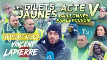 LES GILETS JAUNES BÂILLONNÉS, ACTE V