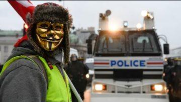 50 000 Gilets jaunes réunis en France pour le huitième samedi de mobilisation