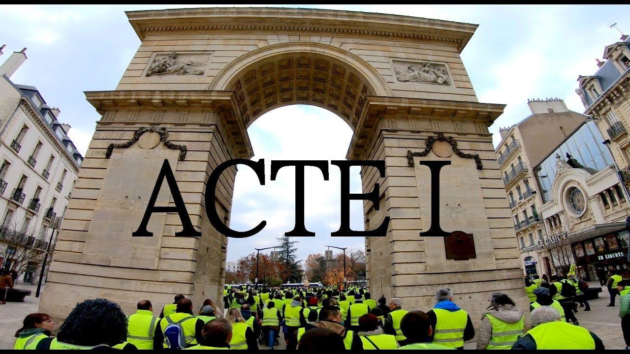 Acte I – Manifestation Gilets jaunes Dijon