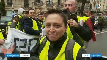 Bordeaux : de nouveaux affrontements entre CRS et gilets jaunes sur la place Pey Berland
