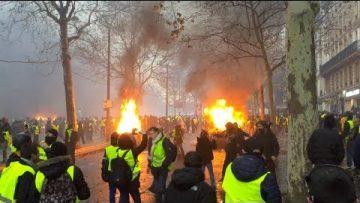 Gilets Jaunes Acte 3 : La colère s'exprime dans les rues de Paris