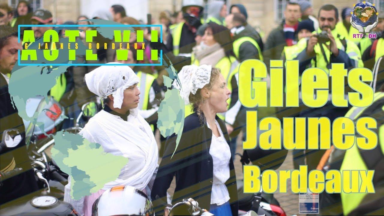 Gilets Jaunes Bordeaux Acte 7/ 29 .12 .2018, Pas de trêve hivernale