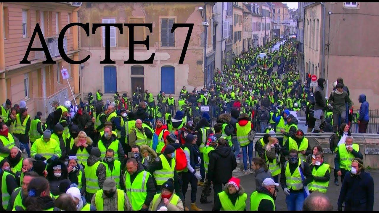 Gilets jaunes Dijon – ACTE 7