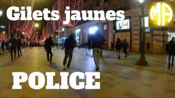 Gilets jaunes : interventions, poursuites, interpellations, la police à Paris le 5 janvier, acte 8