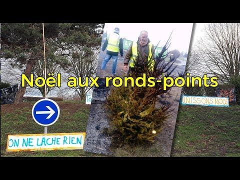 GILETS JAUNES : PRÊTS POUR PASSER NOEL AU ROND-POINT… 21/12