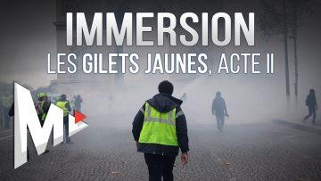 LES GILETS JAUNES, ACTE II – Immersion sur les Champs-Élysées