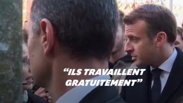 À Amiens, une chercheuse interpelle Macron sur la précarité des doctorants