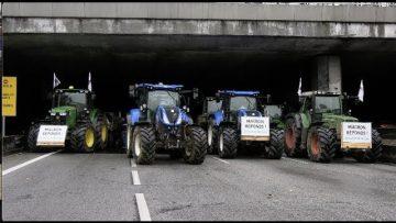 Agriculteurs : blocage du périphérique (27 novembre 2019, Paris)