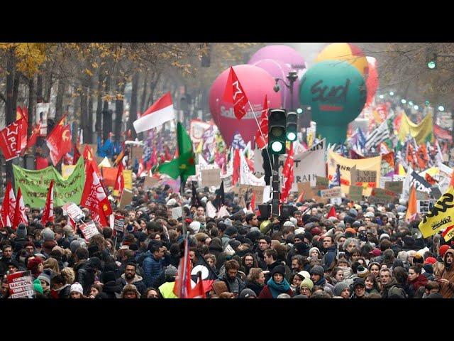 Grève du 5 décembre : en direct, la journée d'action contre la réforme des retraites