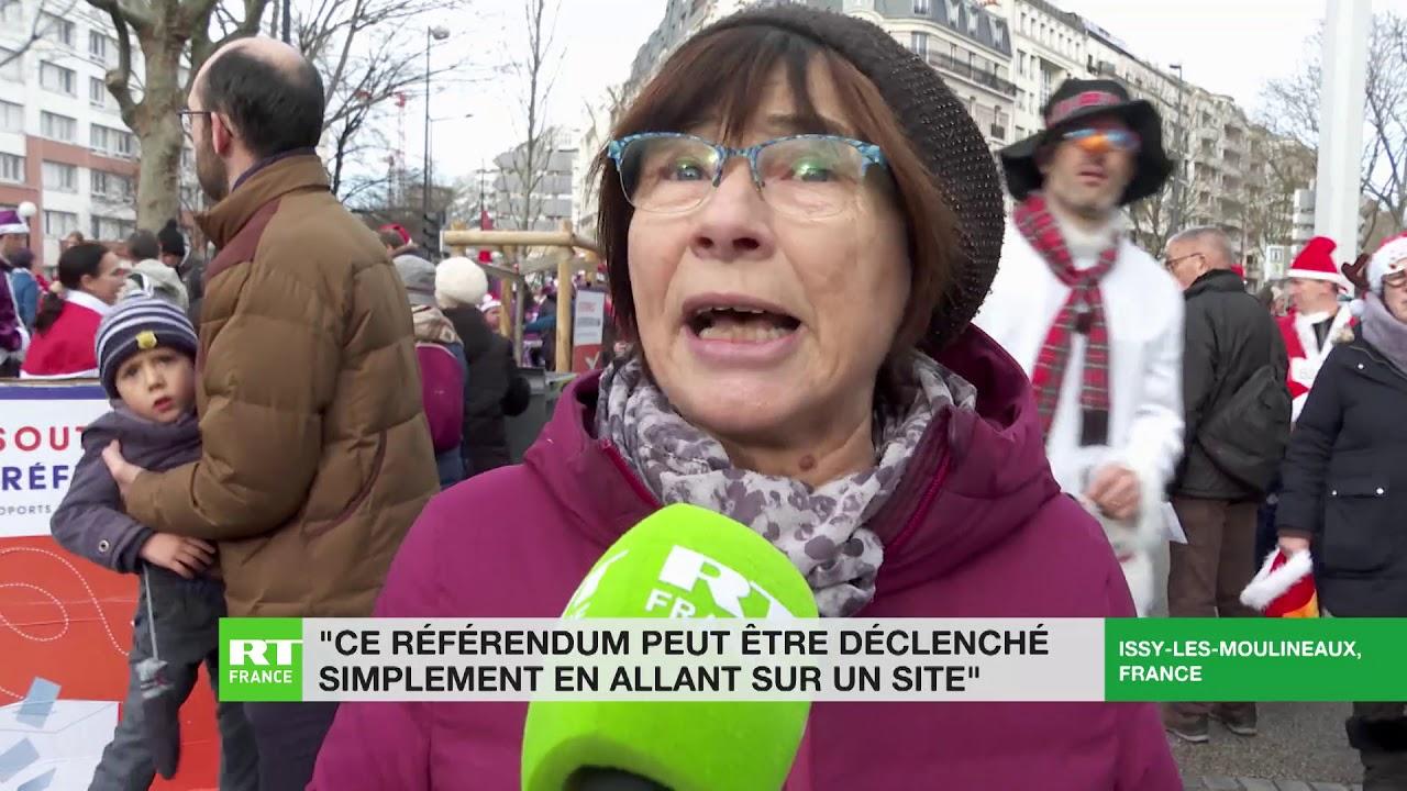 Le collectif «Issy Boulogne pour le RIP ADP» mobilisé pour inciter les passants à signer