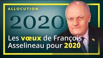 Les vœux de François Asselineau pour l'année 2020