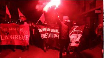 Manifestation aux flambeaux : Lueurs de révolte dans la nuit