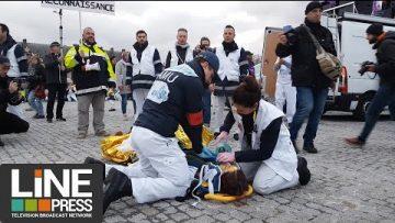 Manifestation des professionnels de santé / Paris – France 14 novembre 2019