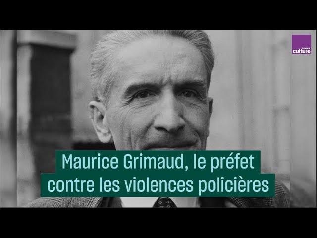 Maurine Grimaud, le préfet contre les violences policières