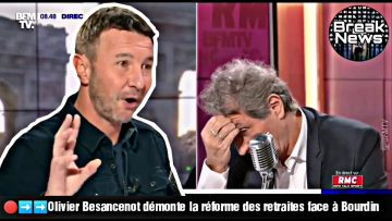 Olivier Besancenot démonte la réforme des retraites face à Bourdin