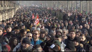 Retraite : 50 jours de grève et nouvelle manifestation