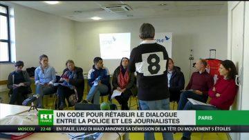 Un code pour rétablir le dialogue entre la police et les journalistes
