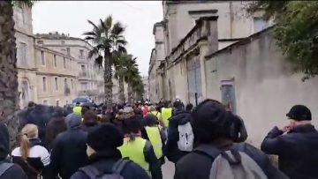 En direct Montpellier – Rassemblements gj