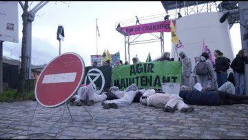 Extinction Rebellion bloque une usine de ciment Lafarge