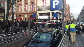 Gilet jaune acte 64 Toulouse place Esquirol