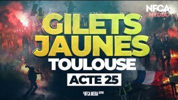 GILETS JAUNES – ACTE 25 – TOULOUSE