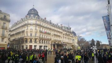 Gilets jaunes acte 64 – Montpellier