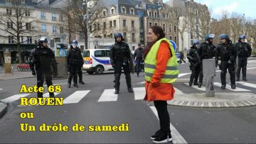 Gilets jaunes acte 68 à Rouen