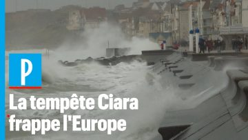 Inondations et vents violents: la tempête Ciara frappe l'Europe
