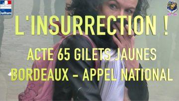INSURRECTION À BORDEAUX : GILETS JAUNES ACTE 65