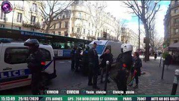 MANIFESTATION À PARIS DES GILETS JAUNES – ACTE 68