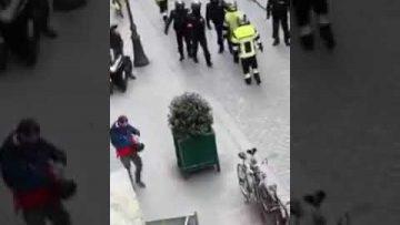 Quand les FDO essaient de prendre le dessus sur les soldats du feu❗️ Le bloc fait la force Toulouse