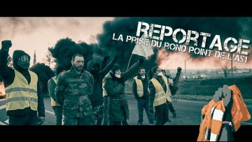 REPORTAGE #yellowvests – Affrontements forces de l'ordre sur le rond-point de l'A51 (7/01/2019)