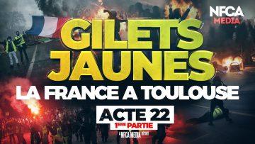 SCÈNES DE GUERRE A TOULOUSE POUR L'ACTE 22 (1ERE PARTIE)