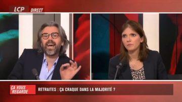 """""""Vous avez été éborgnée ?"""" : Echange tendu entre Aymeric Caron et Aurore Bergé"""