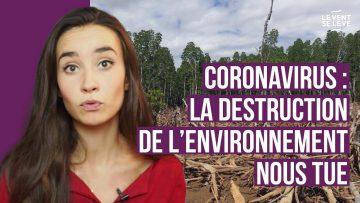 CORONAVIRUS : LA DESTRUCTION DE L'ENVIRONNEMENT NOUS TUE