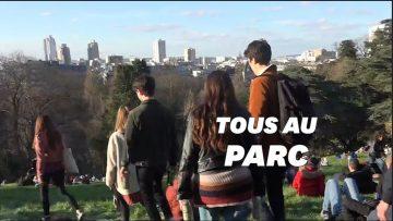 Coronavirus: les Parisiens nombreux dans les parcs publics malgré les consignes de distanciation