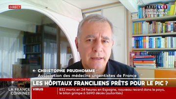 COVID-19 – Itws de l'urgentiste Christophe Prudhomme, porte-parole de l'AMUF (Pdt: Patrick Pelloux)