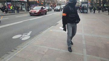 Gilet jaune acte 68 toulouse 2 arrestations par la BAC