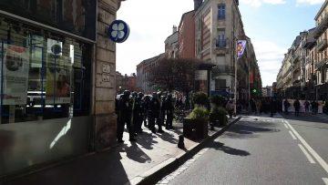 Gilet jaune acte de 70 Toulouse rue de Metz