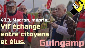 GUINGAMP – 03 mars – Vif échange entre citoyens et élus