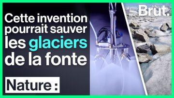 Ils inventent une machine qui pourrait sauver les glaciers de la fonte