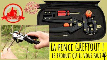 """La pince """"Greftout"""". Feat : L'arbre au 1000 fruits !"""