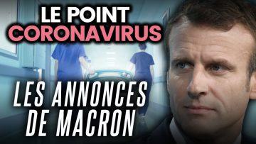 Les annonces d'Emmanuel Macron, concours et exams reportés, États-Unis… Le point coronavirus