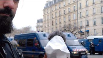 Paris, les Jaunes et les bleus…