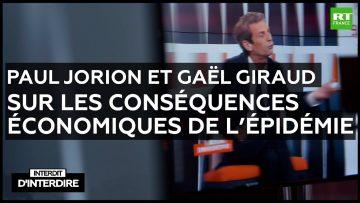 Paul Jorion et Gaël Giraud sur les conséquences économique de l'épidémie