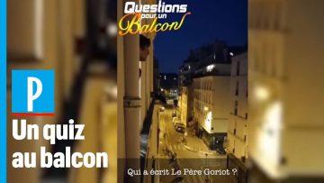 Questions pour un balcon : Le « Questions pour un champion » du confinement